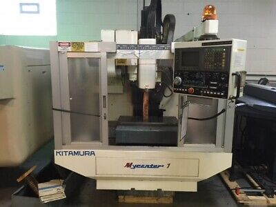 97 Kitamura Mycenter 1 Cnc Vertical Machining Center Mill Yasnac 13000 Rpm Spn