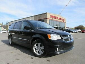 2015 Dodge Grand Caravan CREW PLUS, HTD. LEATHER, NAV, 39K!