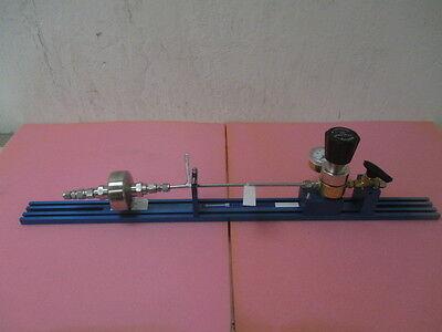 Kinetics Fluid System Gas Line, Tescom 250, Millipore C9EM7036, USG Meter