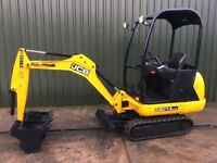 JCB 8014, YEAR 2014, LOW HOURS, 3 BUCKETS, MINI DIGGER EXCAVATOR