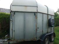 Bakewell double horse trailer