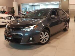 2015 Toyota Corolla S-SPORT-AUTO-REAR CAM-BLUETOOTH-ONLY 77KM
