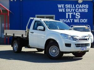 2016 Isuzu D-MAX MY15.5 SX White 5 Speed Manual Cab Chassis Welshpool Canning Area Preview
