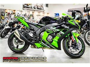2016 Kawasaki Ninja ZX-10R ABS Kawasaki Racing Team Edition - On