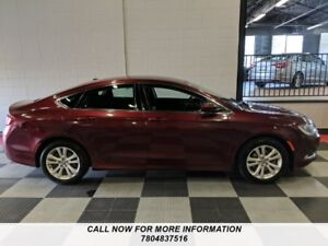 2015 Chrysler 200 Limited, Power Seat, Certified