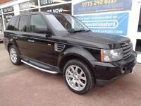 Land Rover Range Rover Sport 2.7TD V6 auto 2007 4x4 HSE Full S/H Sat Nav Leather