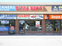 **PIZZA STORE FOR SALE** Busy Mississauga Location