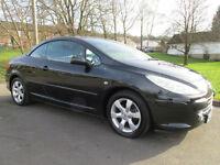 2007 (57) Peugeot 307 CC 1.6 16v ( 110bhp ) Coupe Sport ***FINANCE ARRANGED***