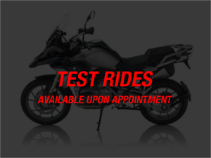 BMW Test ride (by appointment only)