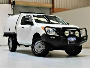 2012 Mazda BT-50 UP0YF1 XT Freestyle White 6 Speed Manual Cab Chassis Yangebup Cockburn Area Preview