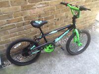BMX BIKE WITH 20 INCH WHEELS