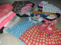 Girls large bundle of clothes 5-6 years