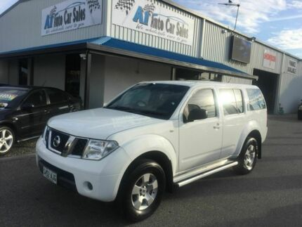 2007 Nissan Pathfinder ST automatic 7 seats White 5 Speed Automatic Wagon Port Adelaide Port Adelaide Area Preview