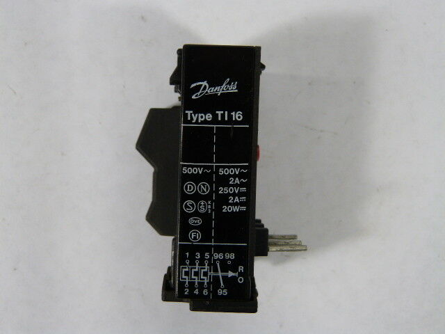 Danfoss TI-16C-047H020300 Thermal Overload Relay .40-.62amp  USED