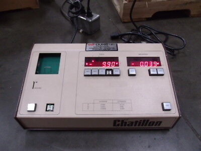 Chatillon Force And Deflection Tester Model 2812-s