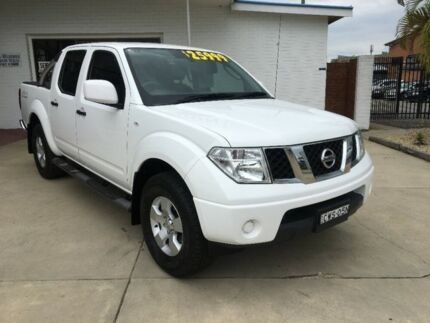 2014 Nissan Navara D40 S9 Silverline SE White 6 Speed Manual Utility Macksville Nambucca Area Preview