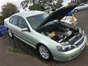 2002 Ford Fairmont Ghia Silver Automatic Sedan Hoppers Crossing Wyndham Area Preview