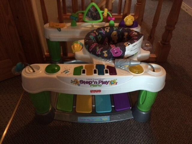 Step and play piano fisher price