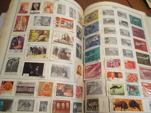 Collection de timbres Internationaux