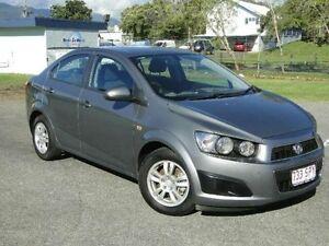 2012 Holden Barina TM MY13 CD Grey 5 Speed Manual Sedan Parramatta Park Cairns City Preview