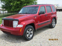 2008 Jeep Liberty Sport SUV, Crossover PRICE REDUCED!!!!!