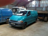 Toyota Hiace wanted any year, ++++ with or without mot ++++