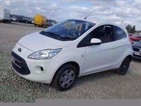 2013 (62) FORD KA EDGE 1.2 PETROL BREAKING FOR PARTS