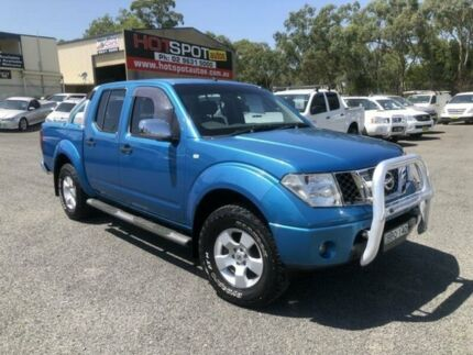 2007 Nissan Navara D40 ST-X Blue 6 Speed Manual 4D UTILITY Greystanes Parramatta Area Preview