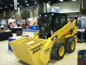 COMMERCIAL GRADE QUICK ATTACH SKIDSTEER CEMENT MIXER