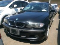 BMW 320i 2002 CAB BREAKING ALL PARTS AVAILABLE