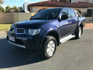 2012 Mitsubishi Triton MN MY12 GL-R (4x4) Blue 5 Speed Manual Club Cab Utility Southport Gold Coast City Preview