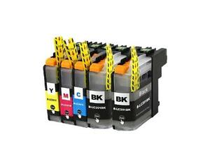 Set cartouches encre Brother LC201/203 ink toner cartdriges kit