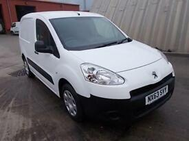 Peugeot Partner L1 850 S 1.6 92PS (SLD) EURO 5 DIESEL MANUAL WHITE (2013)
