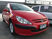 2002 Peugeot 307 T5 HDi Red 5 Speed Manual Hatchback Maidstone Maribyrnong Area Preview
