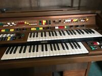Yamaha Electone C605 Electric Organ with Stool