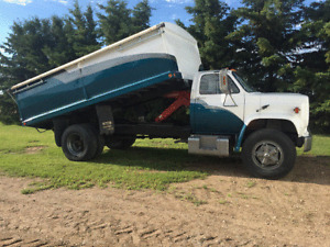 1982 C70 Chevy Grain Truck New Paint Spring 2017
