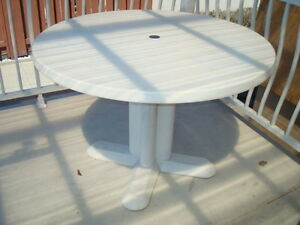 ROUND PATIO TABLE - TABLE À PATIO ROUNDE