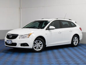 2014 Holden Cruze JH MY14 CD White 6 Speed Automatic Sportswagon