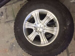 4 Winter tires and rims with TPMsensors St. John's Newfoundland image 1