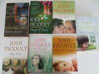 Jodi Picoult Books (7) – Paperback - Superb Condition