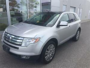 2009 Ford Edge Limited AWD,Panoramic Sunroof,Leather,Navigation!