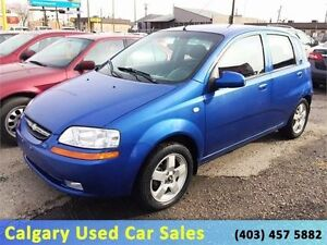 """.$1350 """"As-Is"""" 2006 Chev.Aveo S.6 Speed No Accidents. (Carproof)"""