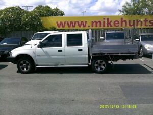 2002 Holden Rodeo TFR9 MY02 LT White 5 Speed Manual Crew Cab Pickup