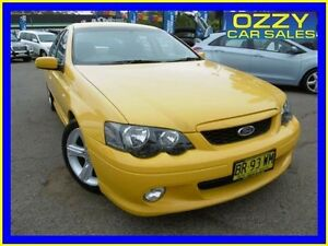 2005 Ford Falcon BF XR6 Yellow 4 Speed Auto Seq Sportshift Sedan Penrith Penrith Area Preview