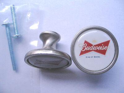 Budweiser Beer Cabinet Knobs, Budweiser Beer Logo Cabinet Knobs, Budweiser Knobs