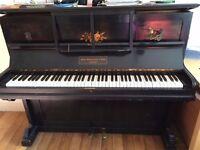Pretty antique piano