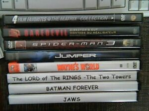 DVD Movies - 11 Movies Total