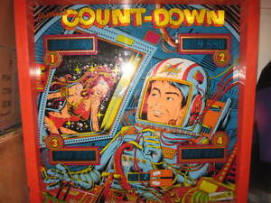 Count Down Pinball - All New Computor Boards