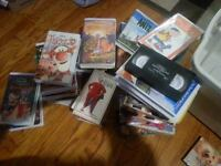 Assorted Used VHS & DVD Movies $2.00 & $5.00 each