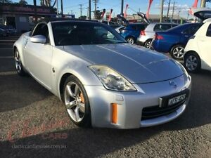 2006 Nissan 350Z Z33 MY06 Upgrade Roadster Track Silver 6 Speed Manual Convertible Lansvale Liverpool Area Preview